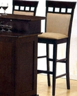 "30"" Height  UPL Back Bar Stool CO-100220 (Set of 2)"