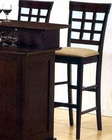"""30"""" Height  Wheat Back Bar Stool CO-100210 (Set of 2)"""