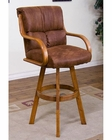 30in Height Swivel BarStool Sedona by Sunny Designs SU-1887RO-A1
