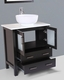 30in Single Round Sink Vanity by Bosconi BOAB130RO