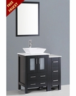 36in Single Square Vessel Sink Vanity by Bosconi BOAB124S1S