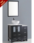 36in Single Vanity w/ Round Sink by Bosconi  BOAB124RO1S