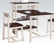 3pc Dining Set Halle by Acme Furniture AC60213SET