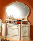 4 Door Buffet and Mirror Romana European Design Made in Italy 33D45