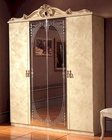 4 Door Wardrobe Ivory Baroque Classic Style Made in Italy 33B4110