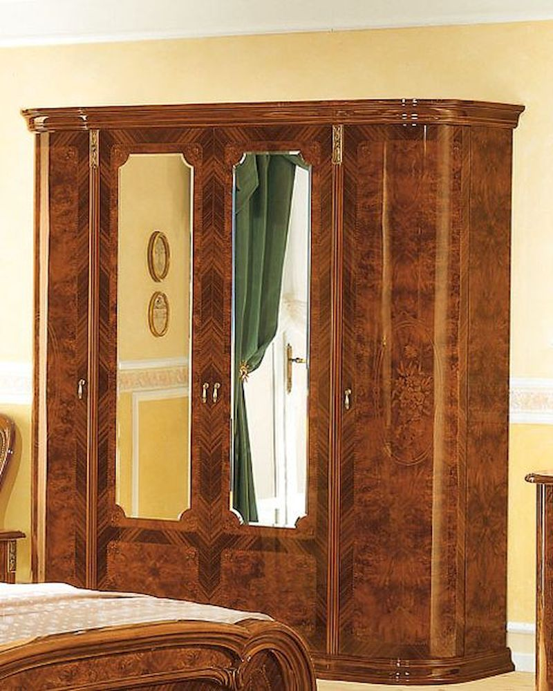 4 door wardrobe minerva european design made in italy 33b468 for Design made in italy