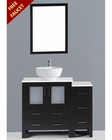 42in Single Round Sink Vanity by Bosconi BOAB130RO1S