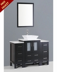 48in Single Square Vessel Sink Vanity by Bosconi BOAB124S2S