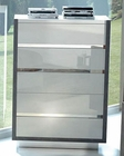 Two Tone Modern 5 Drawer Chest Mangano 33160MN