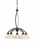 ELK 5 Light Chandelier in Oil Rubbed Bronze EK-17646-5