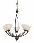 ELK 5 Light Chandelier in Oil Rubbed Bronze EK-17647-5