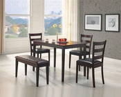 5 PC Dinette Set in Cappuccino CO-150232