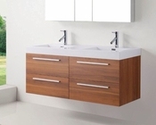 54in Double Plum Bathroom Set by Virtu USA VU-JD-50754-PL