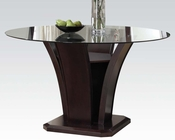 54in Round Dining Table Malik by Acme Furniture AC70500