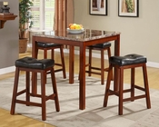 5pc Counter Height Set Achillea by Homelegance EL-3273-SET