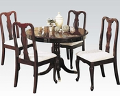 5pc Dining Set Queen Anne by Acme AC06005SET