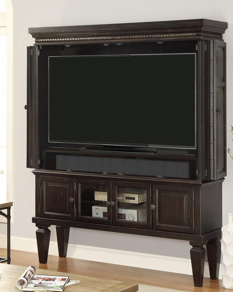 60in tv entertainment armoire venezia by parker house for Entertainment armoire