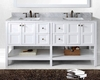 72in Vanity in White Winterfell by Virtu USA VU-ED-30072-WMSQ-WH