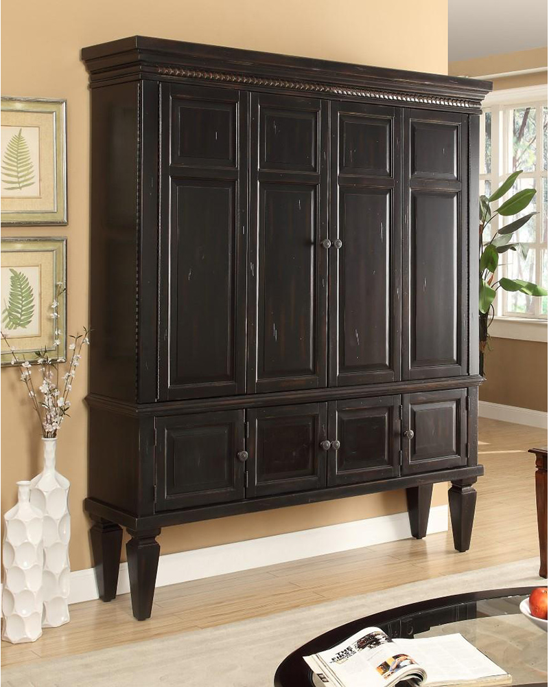 75in tv entertainment armoire venezia by parker house for Entertainment armoire