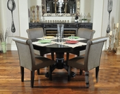8 Player Poker Table Set w/ Dining Top and Premium Chairs PT-77042P
