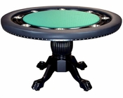 8 Player Round Poker Table PT-7704