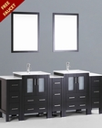 84in Double Integrated Sink Vanity by Bosconi BOAB224U3S