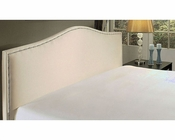 Abbyson Barrington Cream Fabric King Platform Bed AB-55AD-6013-KG-CRM