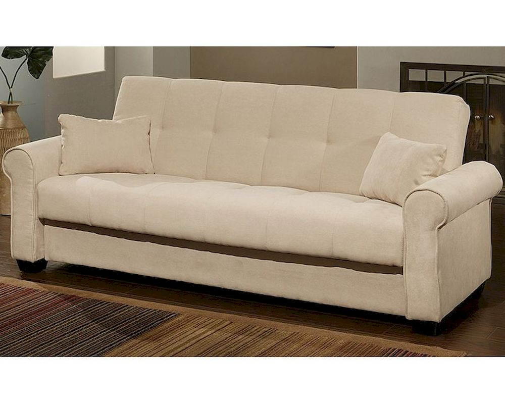 Abbyson Brighton Convertible Sofa With Storage Ab 55yg F26 Ivy