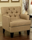 Abbyson Freemont Tufted Fabric Club Chair AB-55HS-SF-180