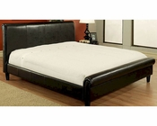 Abbyson Lexington Bi-cast Leather Queen-Size Bed AB-55LI-H025-QU