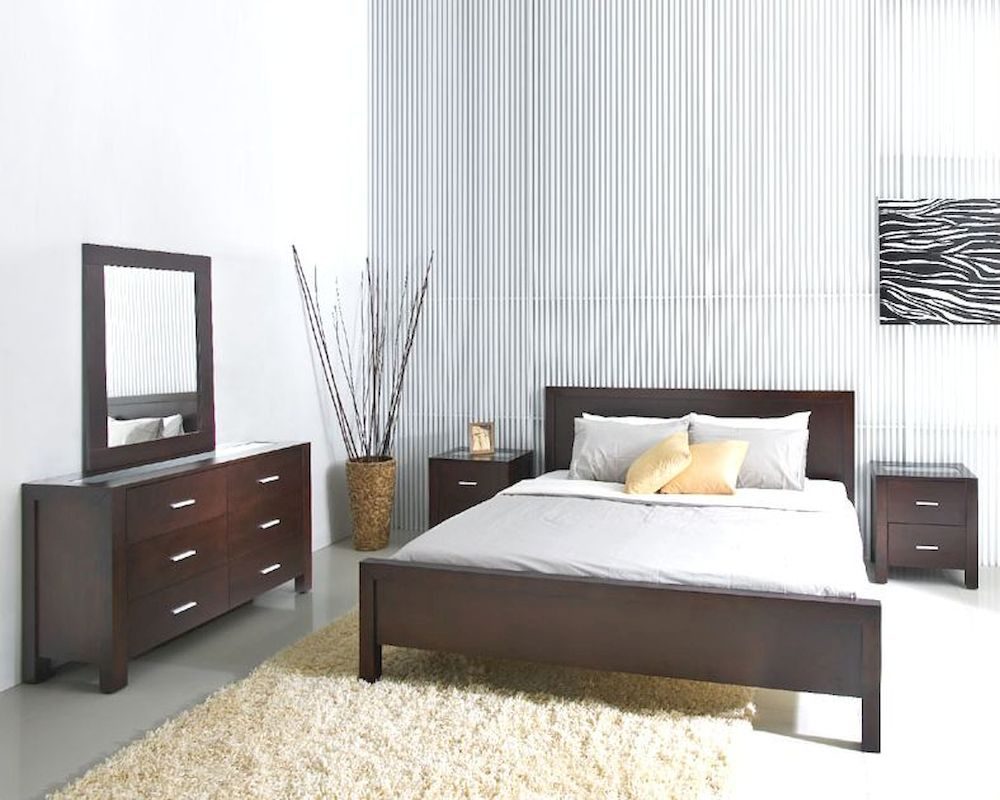 Abbyson Living 5pc Bedroom Set Hamptons Ab 55hm 5000 Qn5