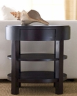 Abbyson Living Ellipse End Table Morgan AB-55FR7000-0300