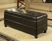 Abbyson Living Ottoman with Storage Tribeca AB-55LI-HT046-OT