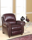 Abbyson Living Reclining Armchair Cambridge AB-55CH-8857-BRG-1