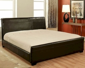 Abbyson Monaco Bi-cast Leather Queen-Size Bed AB-55LI-HC016-QU