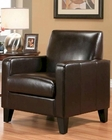 Abbyson Soho Bicast Leather Armchair AB-55HS-SF-300