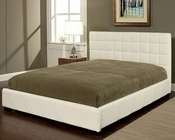 Abbyson Torrance Bi-cast Leather Queen-Size Bed AB-55LI-HC004-QU