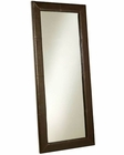 Abbyson Windsor Leather Large Floor Mirror AB-55HS-MIR-300-BRN