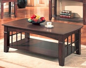 Abernathy Rectangular Coffee Table with Shelf CO700008