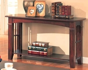 Abernathy Sofa Table with Shelf CO700009