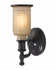ELK Acadia Collection 1 light bath in Oil Rubbed Bronze EK-52010-1