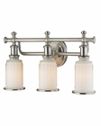 ELK Acadia Collection 3 light bath in Brushed Nickel EK-52002-3