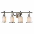 ELK Acadia Collection 4 light bath in Brushed Nickel - LED EK-52003-4-LED
