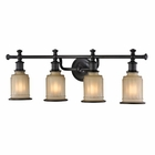 ELK Acadia Collection 4 light bath in Oil Rubbed Bronze - LED EK-52013-4-LED