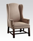 Accent Chair in Beige Fabric by Acme AC59308