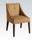 Accent Chair in Brown Fabric by Acme Furniture AC59155
