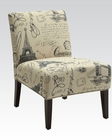 Accent Chair in French Style by Acme Furniture AC96225