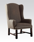 Accent Chair in Gray Fabric by Acme AC59309