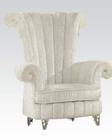 Accent Chair in White by Acme AC59124