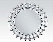 Acme Accent Mirror in Silver AC97057